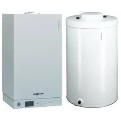 Пакет Viessmann Vitopend 100-W 24 кВт и бойлер Vitocell CUG 100