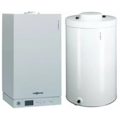 Пакет Viessmann Vitopend 100-W 29,9 кВт и бойлер Vitocell CUG 100